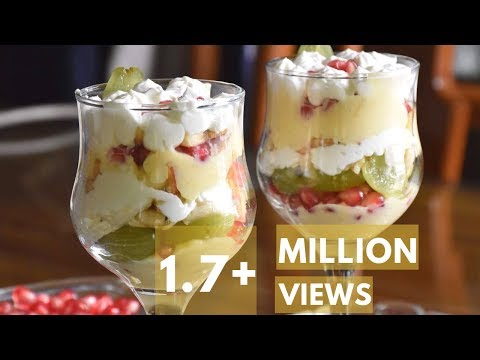 Fruit custard  desert recipe only with 6 ingredients  ||Fruit Salad