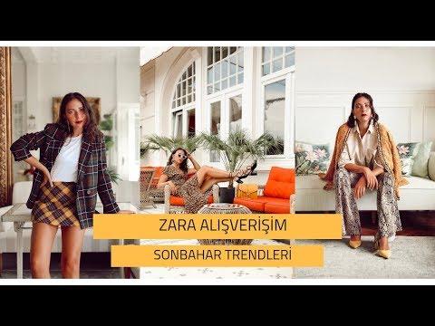 ZARA ALIŞVERİŞİM   SONBAHAR TRENDLERİ 2018
