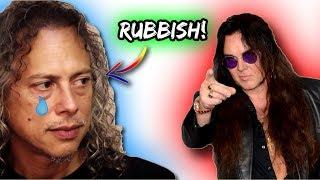 Yngwie Malmsteen: Kirk Hammett Is NOT A Good Guitarist! | Metallica Guitarist