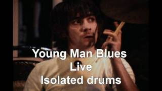 The Who- young man blues(live) isolated Drums