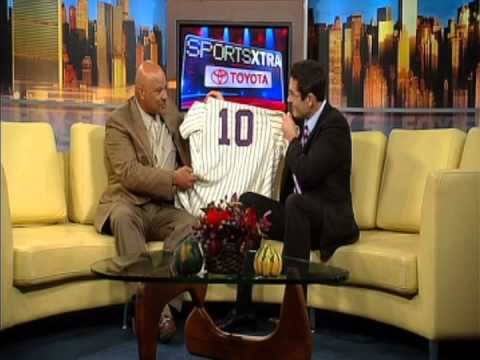 Interview with Chris Chambliss discussing the Historic 1976 New York Yankees Home Run Jersey
