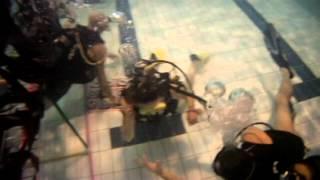 preview picture of video 'vidéo baptême plongée sous marine'
