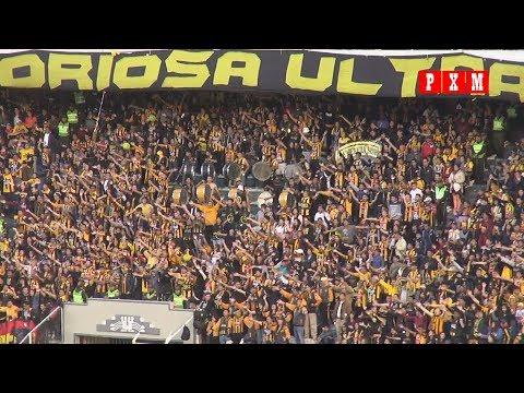 """""""Aliento de la barra de The Strongest en el Clásico paceño 208"""" Barra: La Gloriosa Ultra Sur 34 • Club: The Strongest"""
