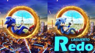 [Laguerto Redo] Sonic the Hedgehog (Movie) Ring Poster [S1 #3]