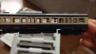 【Nゲージ】 KATO 113系2000番台横須賀色 4両セット 開封