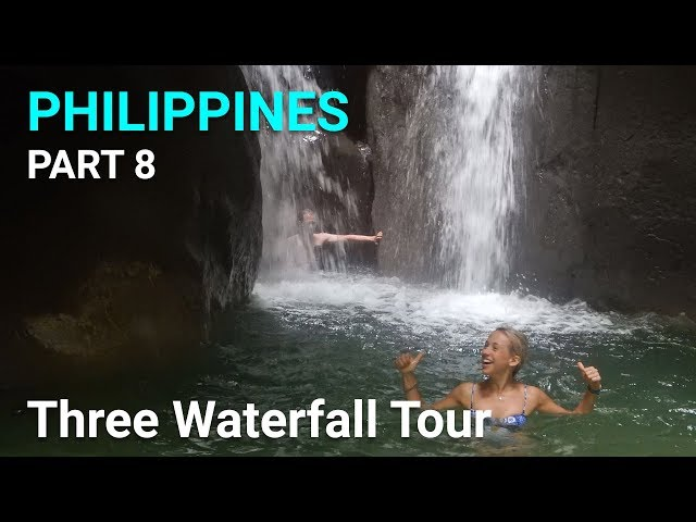 Three Waterfall Tour - Philippines, Cebu - Part 8