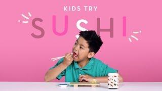 Kids Try Sushi | Kids Try | HiHo Kids