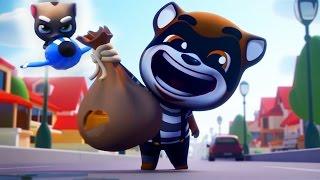 Том за золотом #10 – Морозный ТОМ открывает неоновый город - игровой мультик для детей. Tom games!