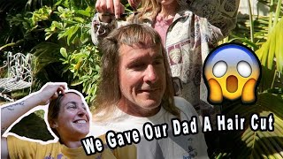 Our Dad Let Us Do WHAT to His Hair!?