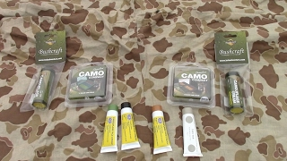 BCB International Camouflage face paint product review
