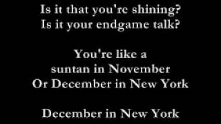 Thea Gilmore - December in New York - Lyrics