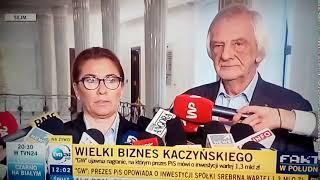 """""""Zarówno Prawo i Sprawiedliwość jak i Jarosław Kaczyński od lat walczy z uczciwością w życiu publicznym"""""""