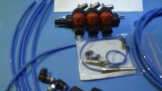 TheWaterEnergy1 Hydrogen Injector installation First step by step Video