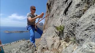 Grecja - film z obozu na Kalymnos