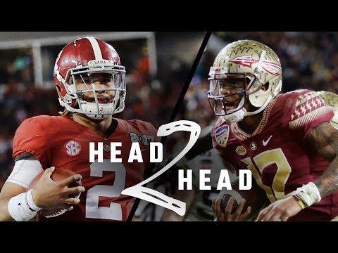 Head to Head: Alabama vs Florida State 2017