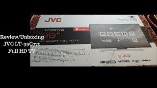 JVC LT -39C770 Full HD Unboxing/Review