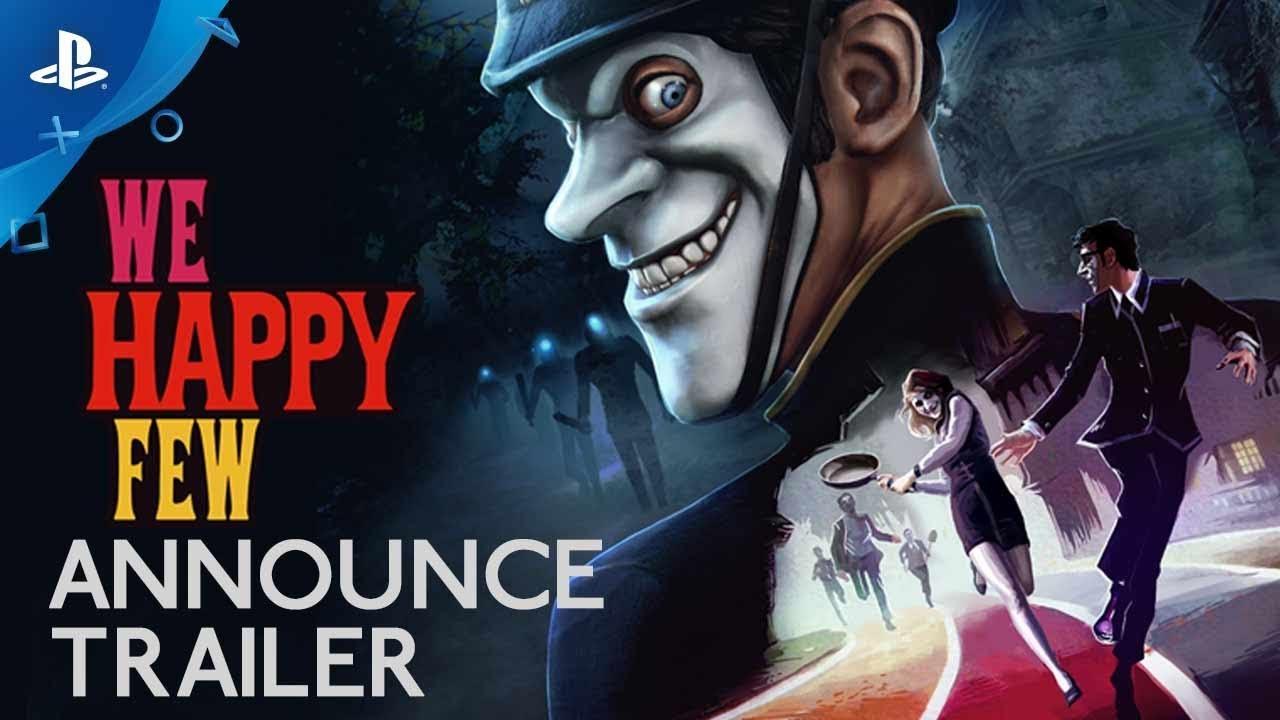 We Happy Few llegará a PS4 el 13 de abril de 2018