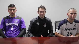 Men's Soccer Post Game Press Conference - St. Joseph's Brooklyn Oct 30, 2019