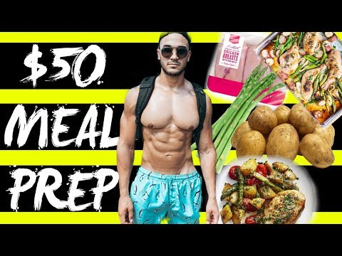 $50 FOR A WEEK OF CUTTING: Meal Prep on a Budget with Alan Jaramillo
