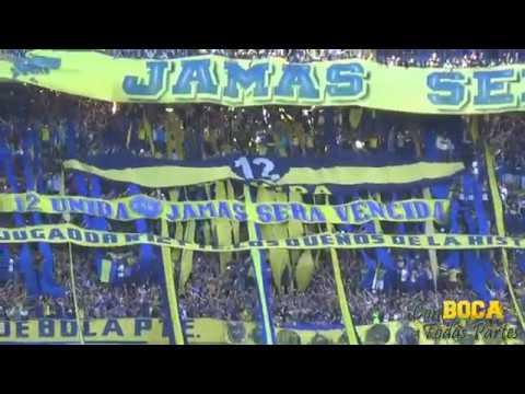 """""""Vals - Los domingos en la cancha / BOCA-TEMPERLEY 2016"""" Barra: La 12 • Club: Boca Juniors • País: Argentina"""