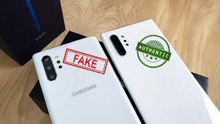 Goophone Note 10+ Clone vs Samsung Galaxy Note 10+