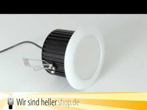 LED Deckeneinbauleuchte 10W Warmweiß 581 Lumen 1ED0016