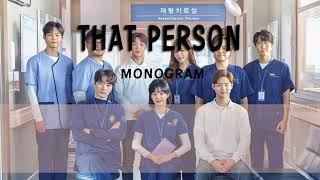 [THAISUB] MONOGRAM (모노그램) - THAT PERSON (그 사람) A Poem A Day OST Part 7 / 시를 잊은 그대에게 OST Part 7