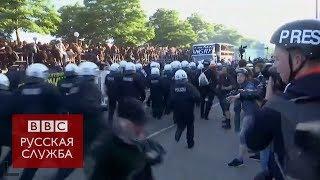 Гамбург против G20: волна протестов захлестнула город
