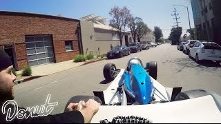 Getting a Ticket in an Indy Car? | Donut Daze 002