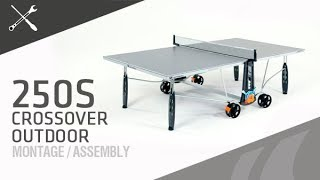 Montage table de ping-pong Cornilleau 250S Crossover outdoor