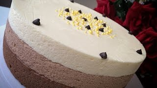 """торт мусс """" ТРИ ШОКОЛАДА """" / нежнейший торт ..ВЫ НЕ ОСТАНЕТЕСЬ РАВНОДУШНЫМИ"""