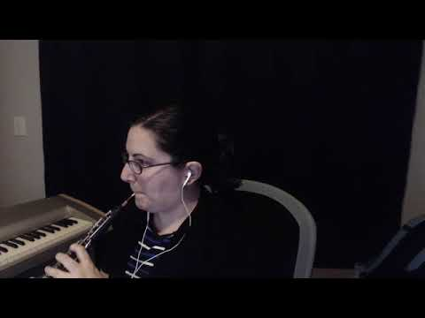 Excerpt recorded during an online lesson.
