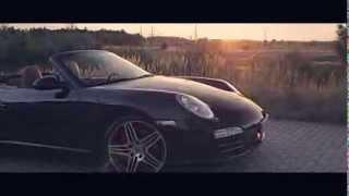 Porsche 997 Carrera 4S in Sunset