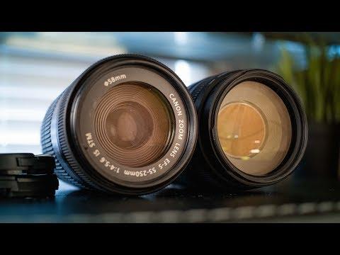 Canon EF 75-300mm Lens vs EF-S 55-250mm STM Lens