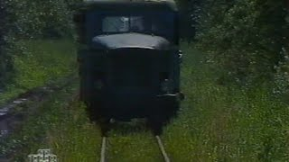 Узкоколейная железная дорога торфопредприятия Назия