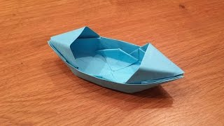 How To Make a Paper Boat That Floats - Origami