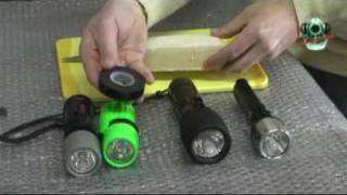 Установка подводного фонаря на арбалет
