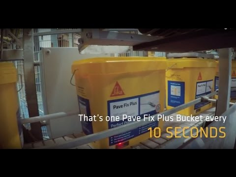 Sika Pave Fix Production Journey
