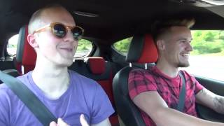 Driving to Monaco F1 in a Ford Fiesta ST