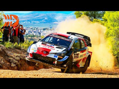 WRC 2021 ラリー・ギリシャ Day3ハイライト動画