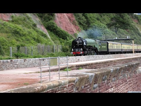 LNER A1 60163 'Tornado' on 'The Torbay Express' at Teignmout…