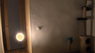 Шаровая молния залетела в квартиру | Ball lightning flew into the apartment