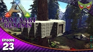 Ark: Annunaki Genesis Gameplay - Ep 23 - Redwood Base! - Lets Play on Pooping Evolved