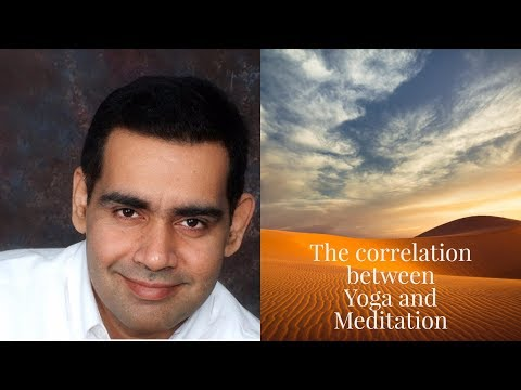 Connection between Yoga and Meditation