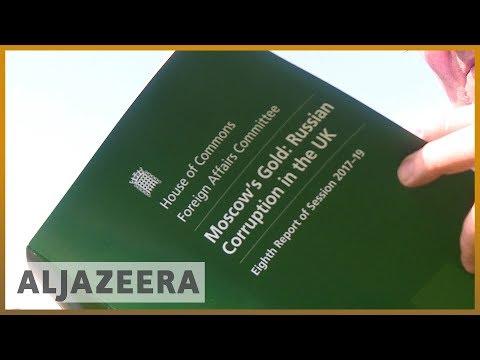 🇬🇧 UK government urged to get tough on suspect Russian money | Al Jazeera English