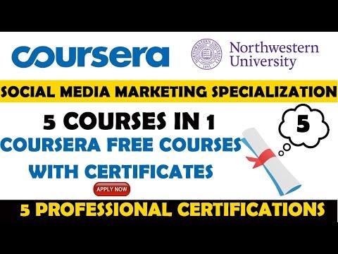 Social Media Marketing Specialization Certification by Northwestern ...