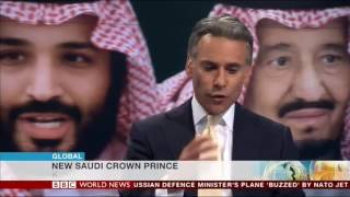 Fatimah Baeshen talks about reform in Saudi Arabia under the new Crown Prince on BBC