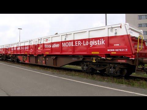 Güterverkehr auf Schiene