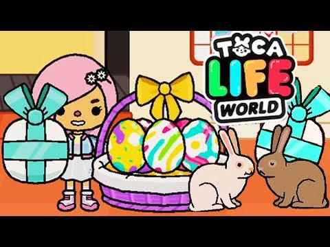 ТОКА БОКА ПАСХА В ДЕРЕВНЕ ! ПОДАРКИ НА ПОЧТЕ 💜 СЕРИАЛ Toca Life World