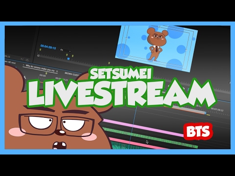 Making videos BTS Live Stream | Surprise Parappa the rapper fusion